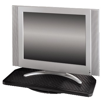 LCD Plasma TV Turntable SuperSize, Black