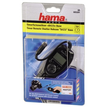 "Hama Timer Remote Release ""DCCSystem"" Base, f. cameras with remote control input"