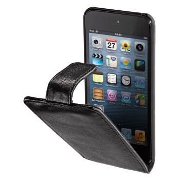 Flip Case MP3 Window Case for iPod touch 5G, black