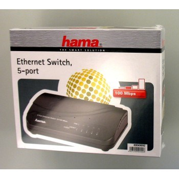 49092 Hama 5-Port Switch 100 10 Mbps