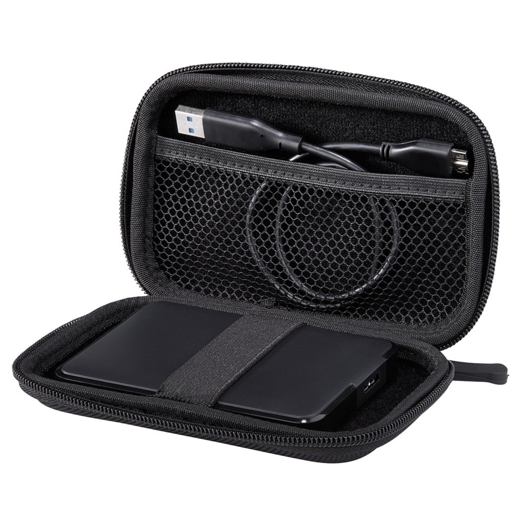 "Hama E.V.A. HDD Case, 2,5"", black"