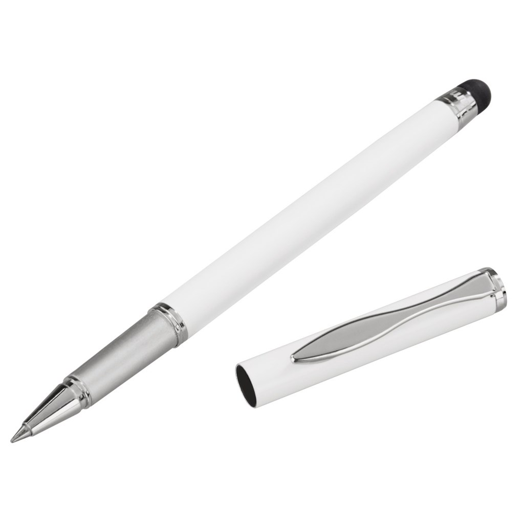 Hama 2in1 Stylus, white