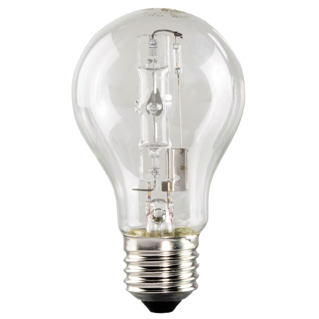 Energy Saver Halogen Bulb, 105W, E27, warm white