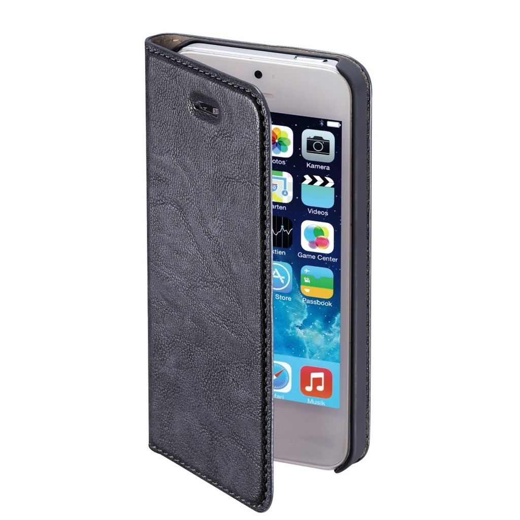 Hama Guard Case Booklet Case for Apple iPhone 5 5s, blue