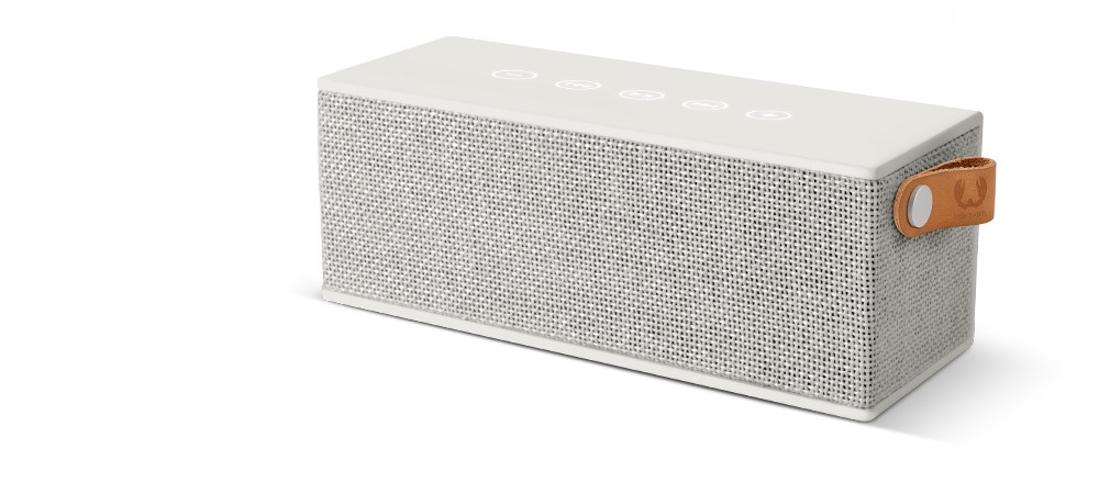 FRESH ´N REBEL Rockbox Brick Fabriq Edition Bluetooth reproduktor, bledošedý