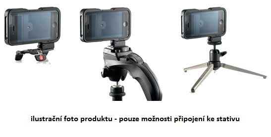 Manfrotto KLYP Iphone case + ML120 + POCKET, staívový obal na iphone 4 4s + LED
