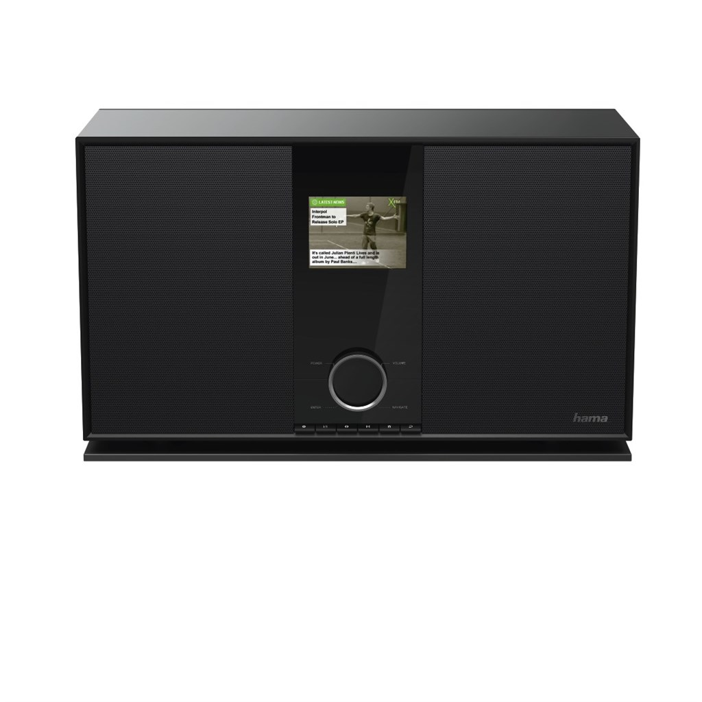 Hama 2.1  internetové rádio DIR3600MBT, IR DAB+ FM MR BT A Subwoofer
