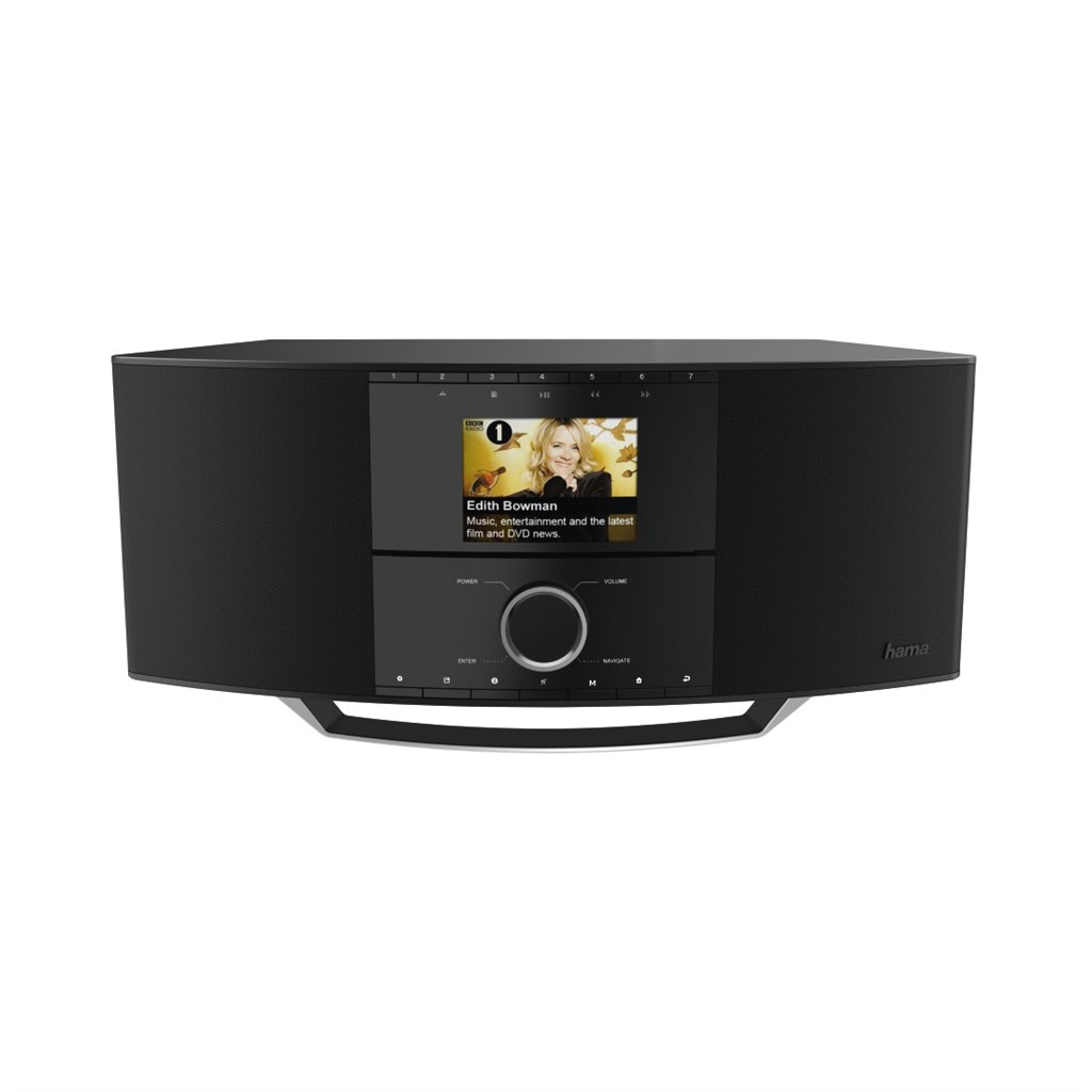 Hama internetové rádio DIR3500MCBT, IR DAB+ FM MR CD BT A