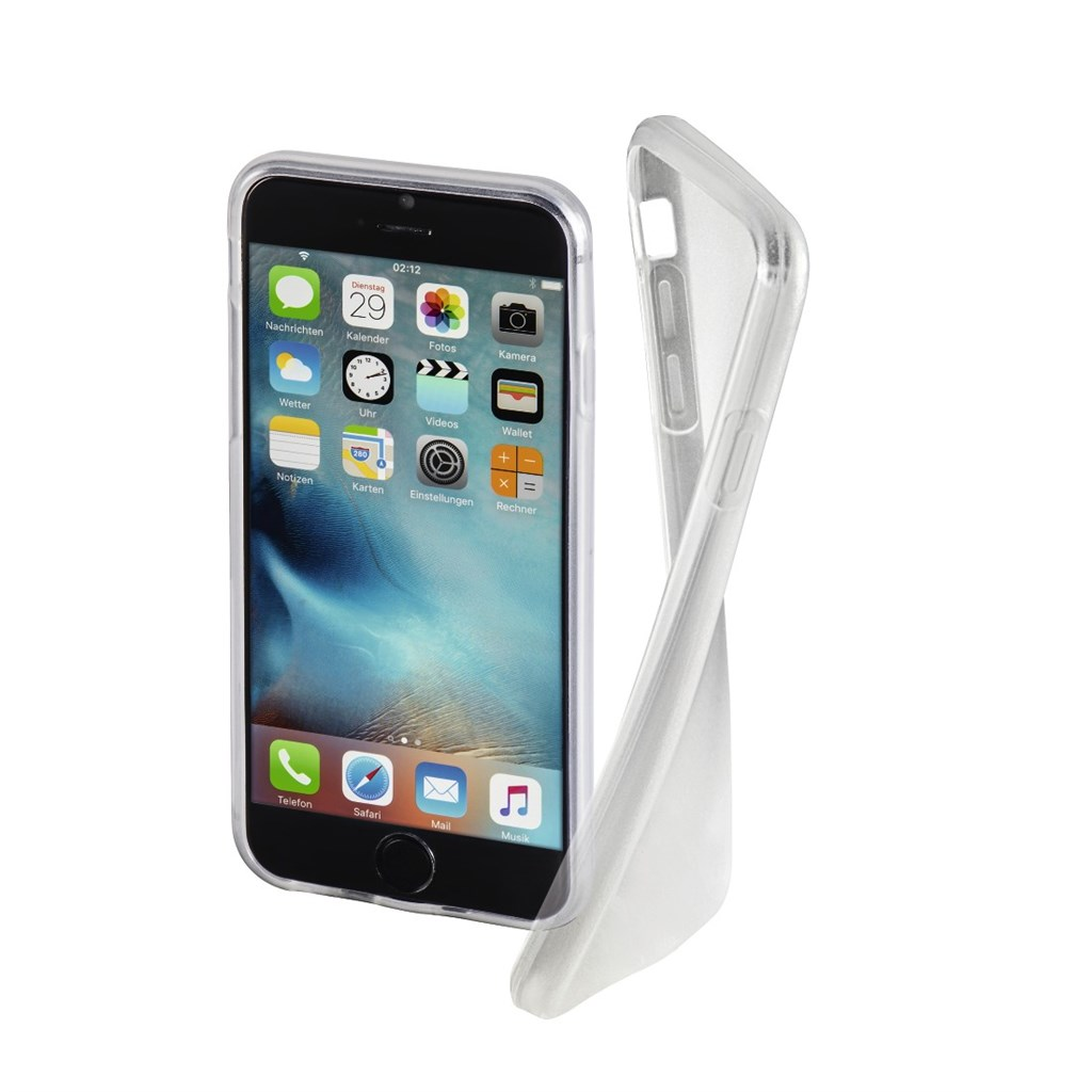 Hama Crystal Clear Cover for Apple iPhone 7, transparent