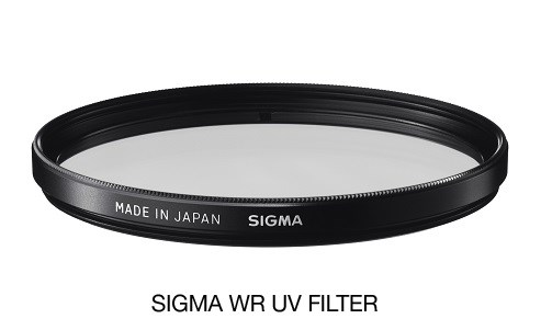 SIGMA filter UV 62 mm WR, UV filter vodeodpudivý