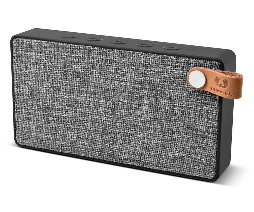 FRESH ´N REBEL Rockbox Slice Fabriq Edition Bluetooth reproduktor, Concrete, šed