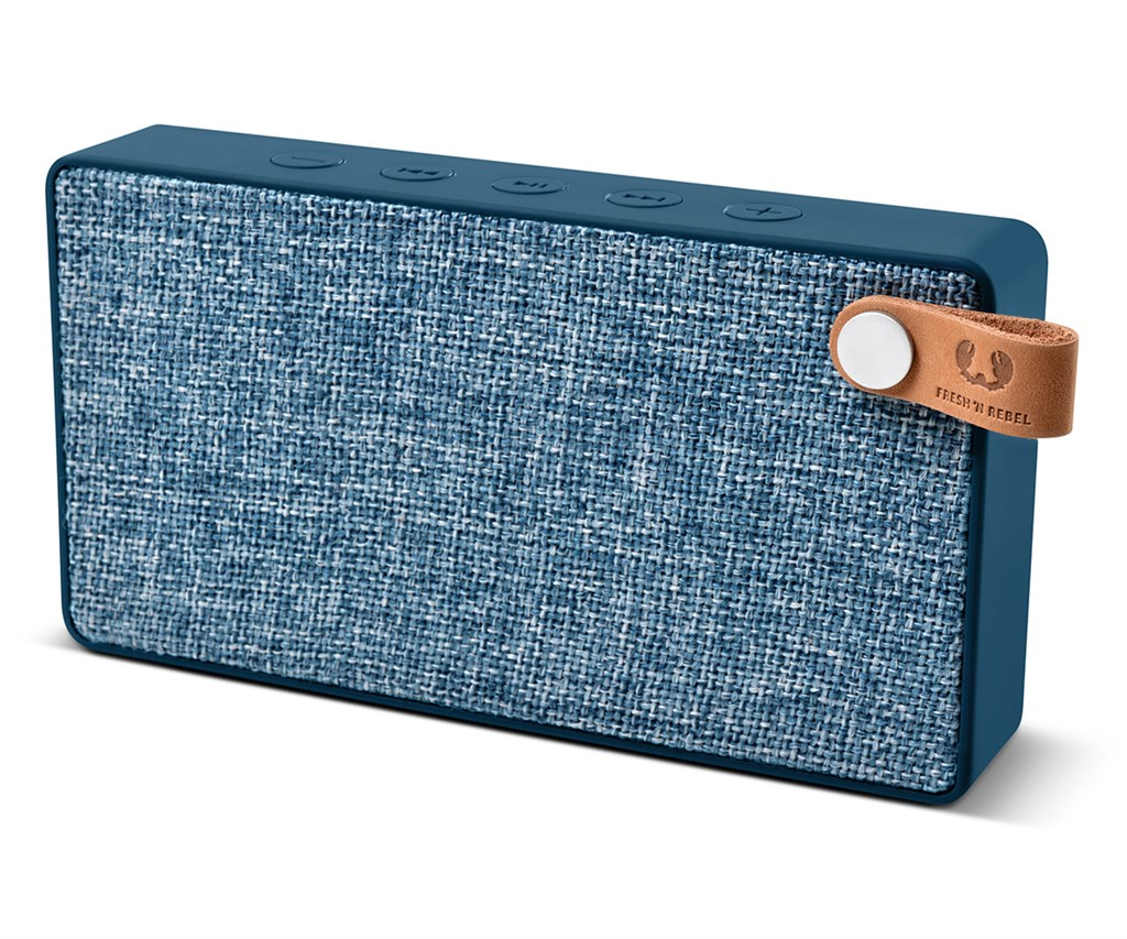 FRESH ´N REBEL Rockbox Slice Fabriq Edition Bluetooth reproduktor, Indigo, indig