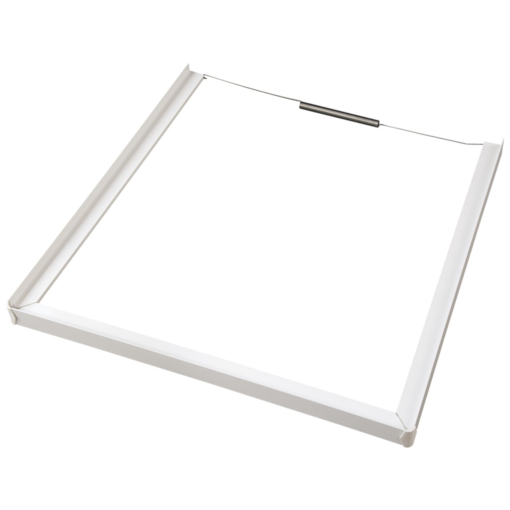Xavax Intermediate Frame (closed front) for Washing Machine Dryer, 60 x 60 cm