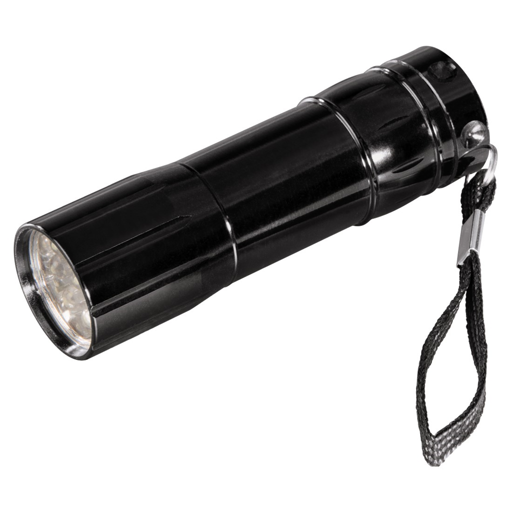 Hama Basic FL-92 Torch, black