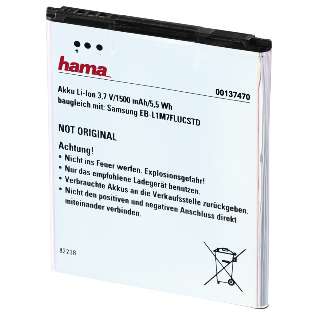 Hama Lithium Ion Battery for Samsung Galaxy SIII mini
