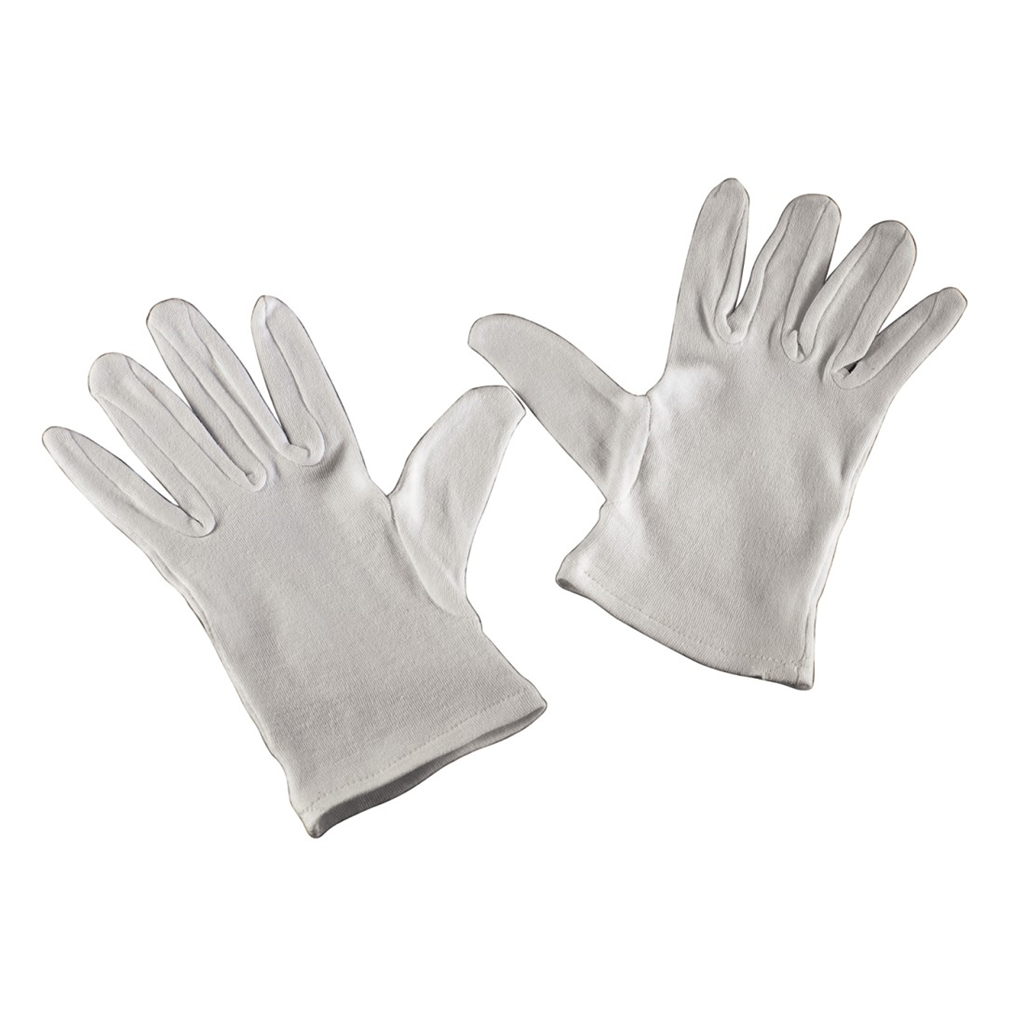 Hama cotton Gloves, size M, 1 pair