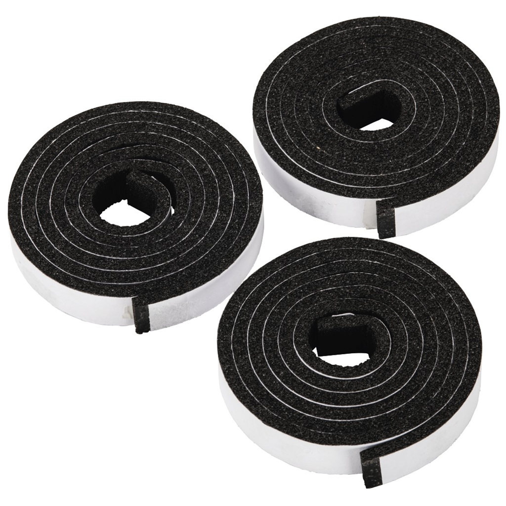 Xavax Sealing Tape for Ceramic Hob, 3 x 1.10 m