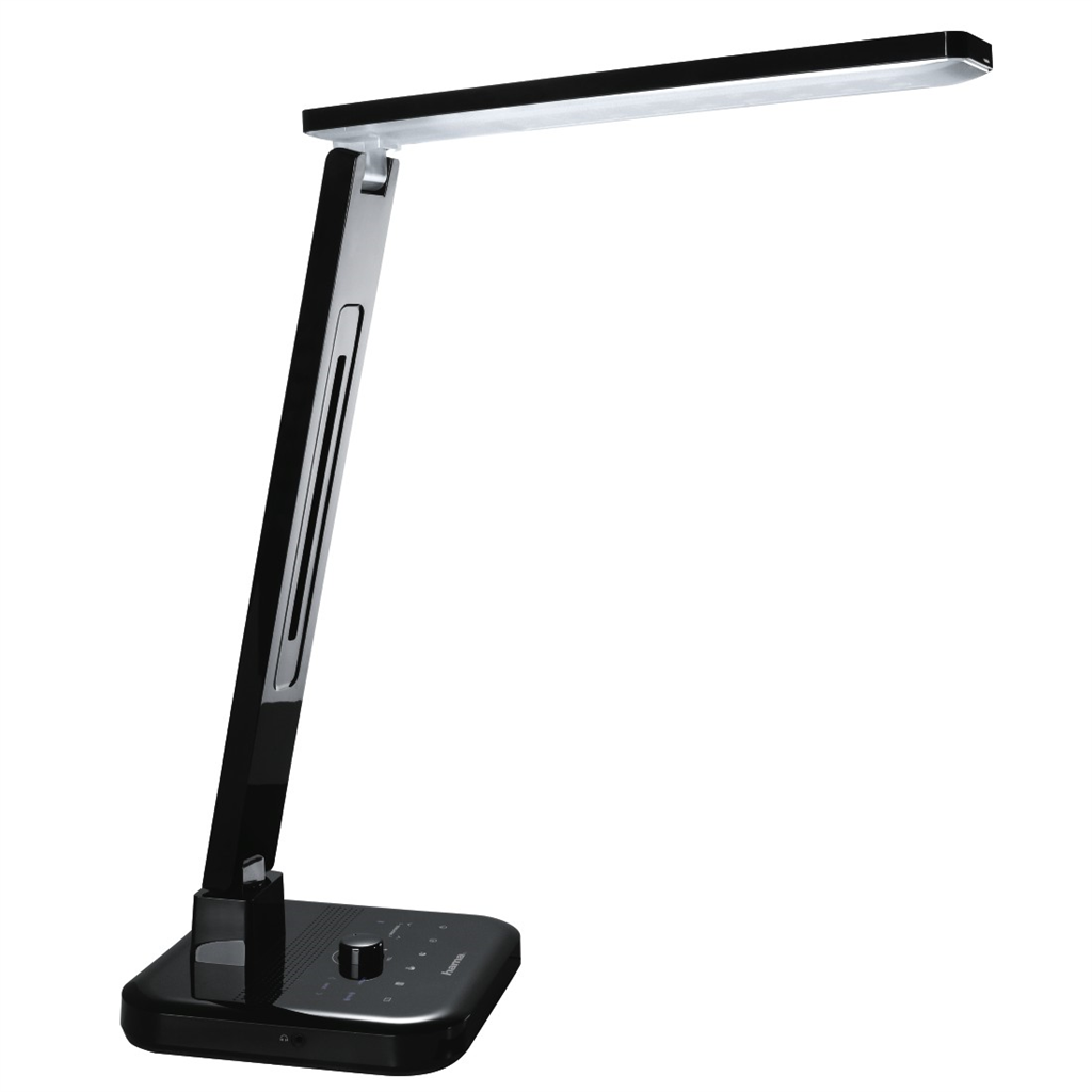 Hama SL 60 LED Desk Lamp, radio Bluetooth hands-free system multi-colour