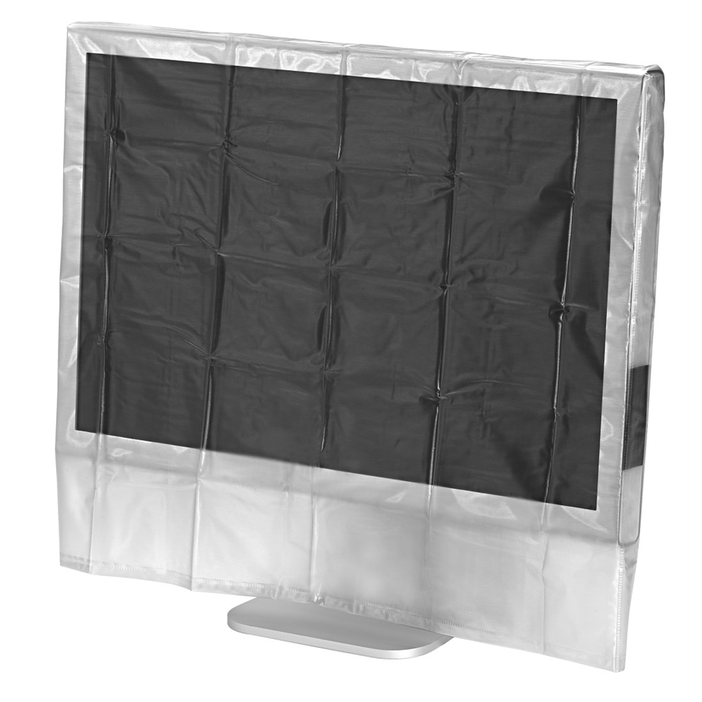 "HAMA 113814  Protective Dust Cover for Screens, 27"" 29"", transparent"
