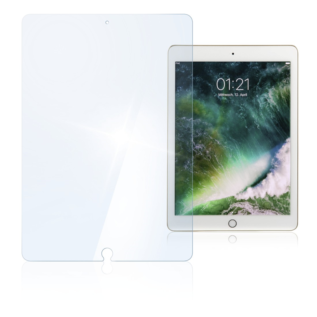 "Hama Premium Glass Screen Protector for iPad Air Air 2 Pro 9.7"" 9.7"" (2017)"