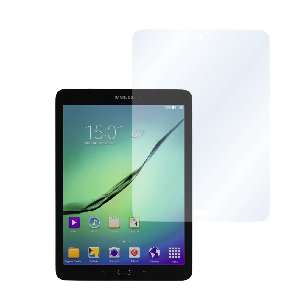 Hama Crystal Clear Screen Protector for Samsung Galaxy Tab S2 S3 9.7