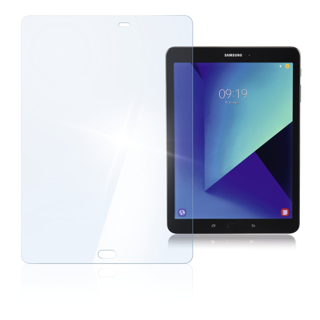 Hama Premium Display Protection Glass for the Samsung Galaxy Tab S2 S3 9.7