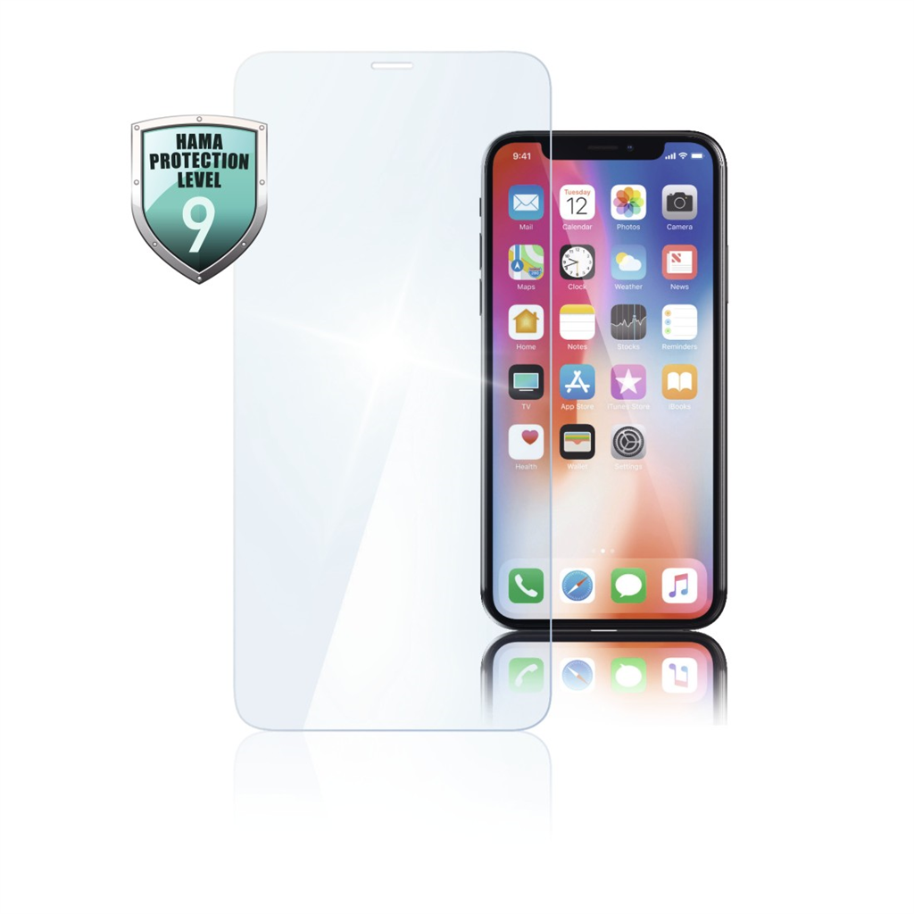 HAMA 186208  Diamond Premium Display Protection Glass for Apple iPhone Xs Max