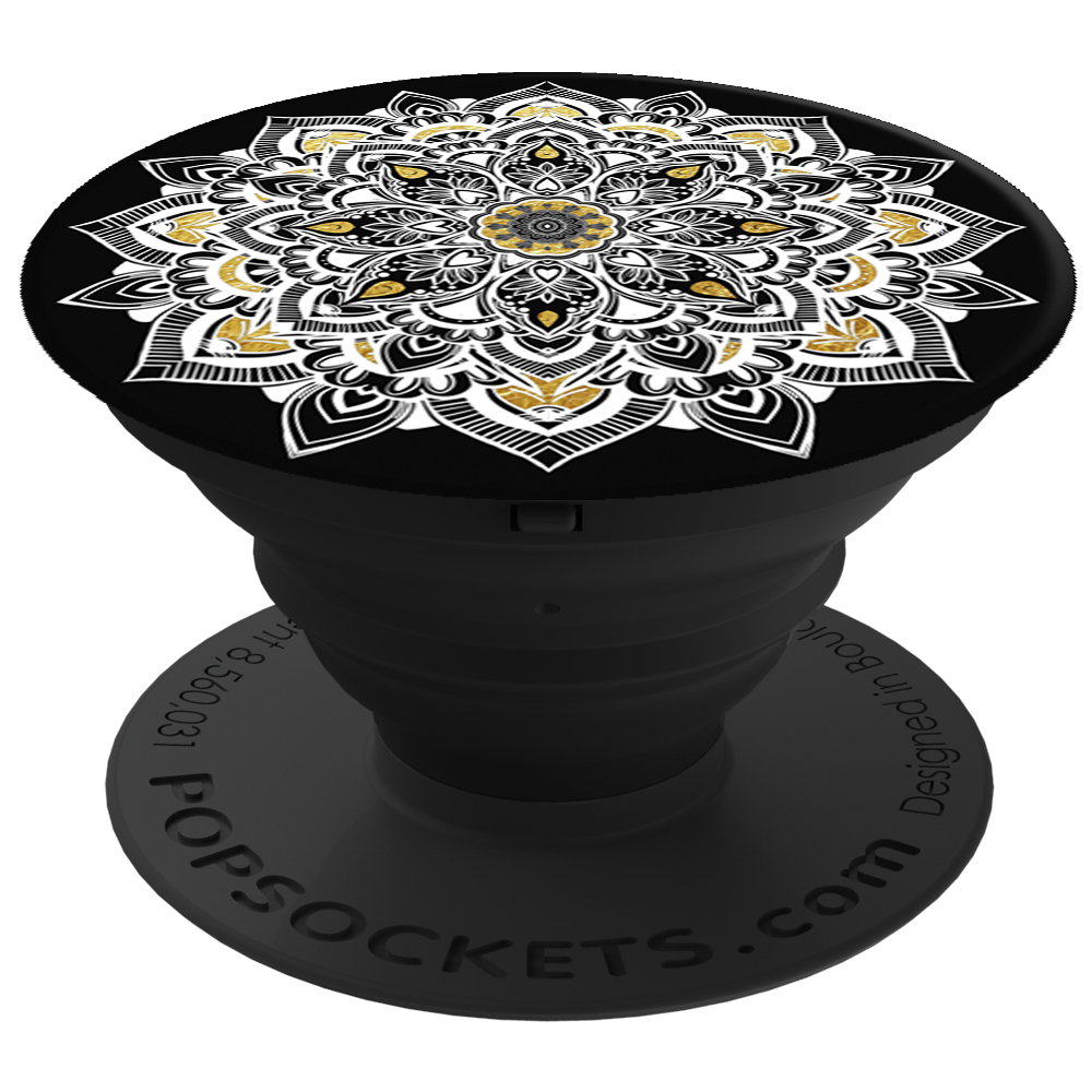 PopSockets 43101100  Original PopGrip, Golden Lace