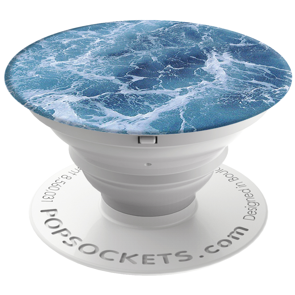 PopSockets 43104100  Original PopGrip, Ocean From the Air
