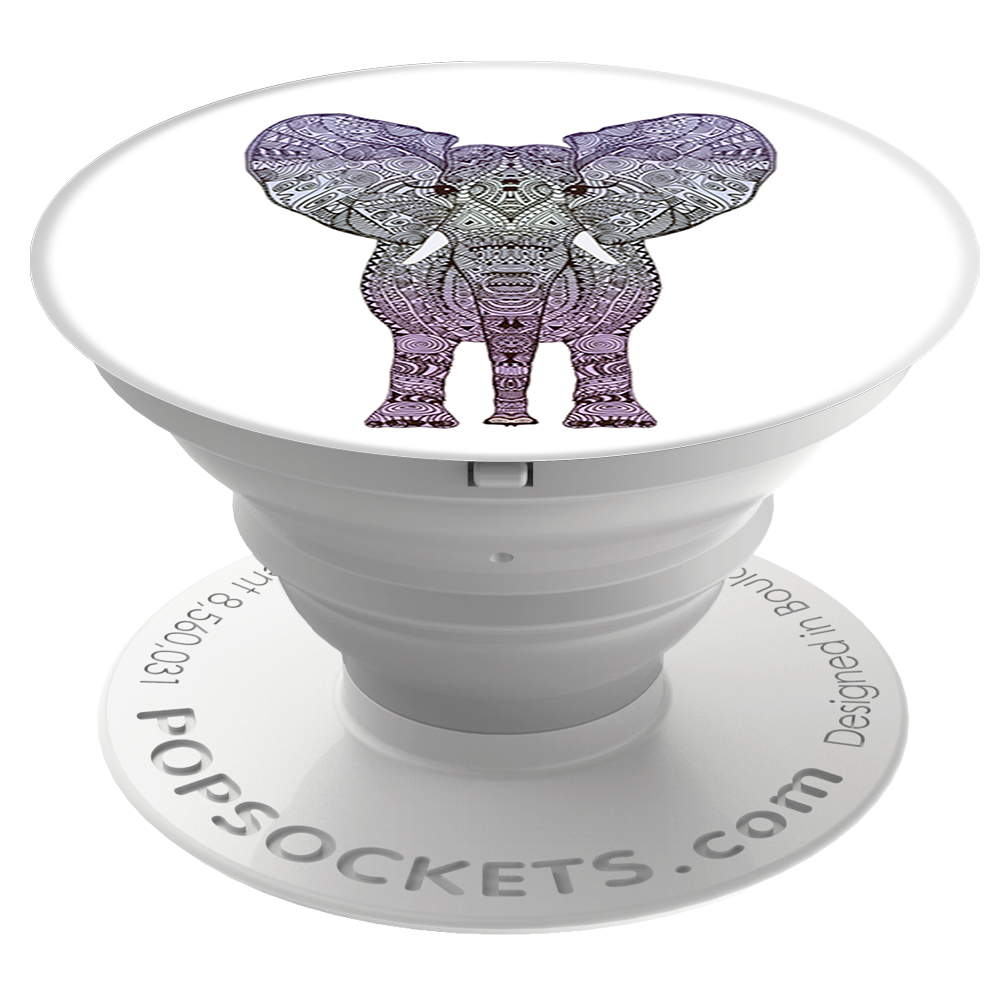 PopSockets 43110700  Original PopGrip, Elephant
