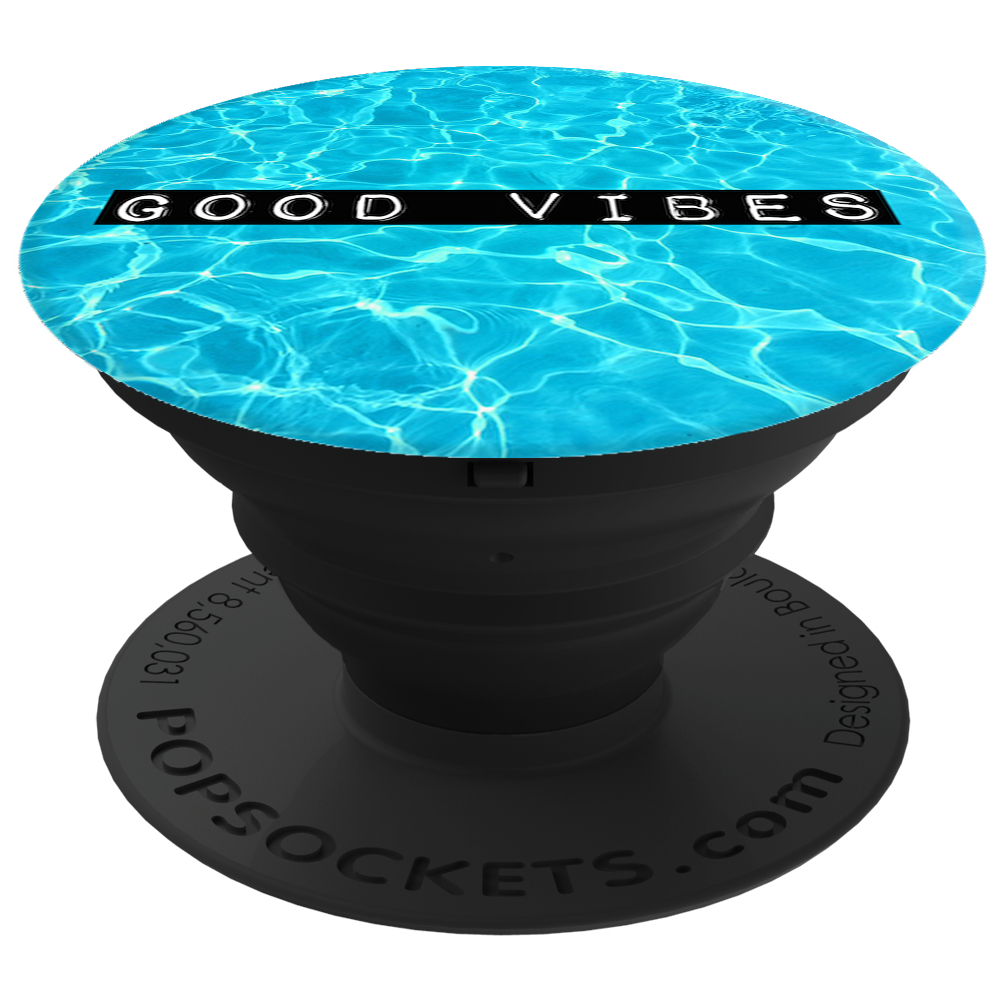 PopSockets 43110800  Original PopGrip, Good Vibes