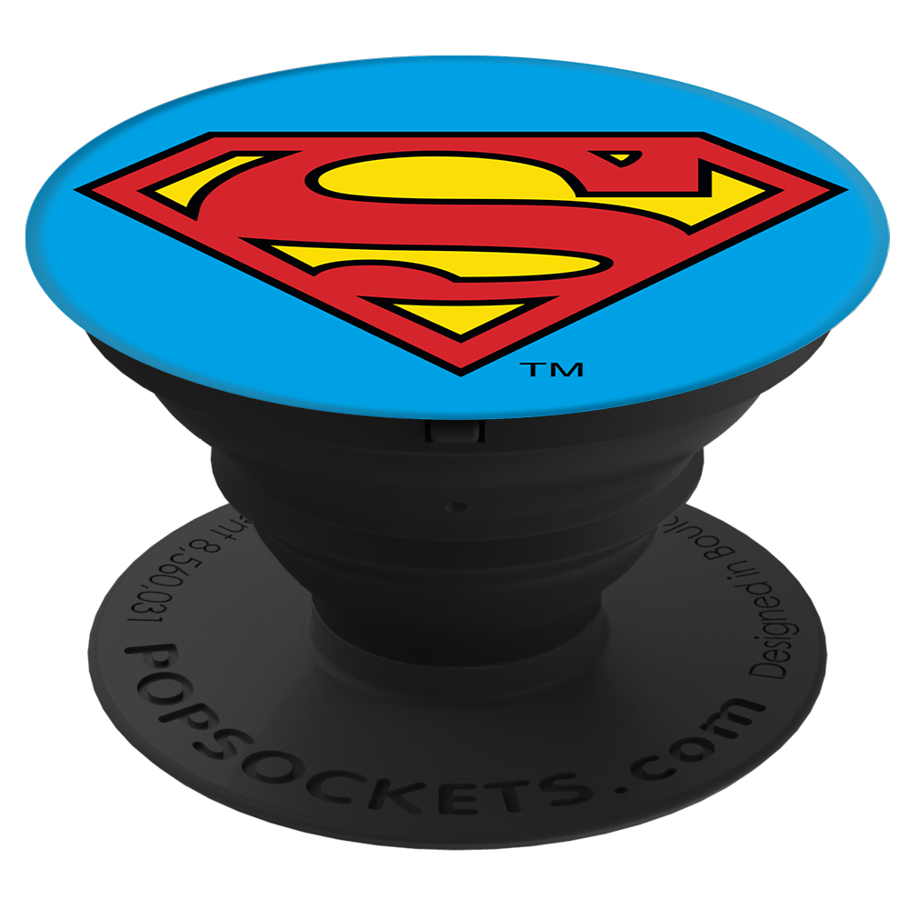 PopSockets 43112800  Original PopGrip, DC COMICS Superman Icon
