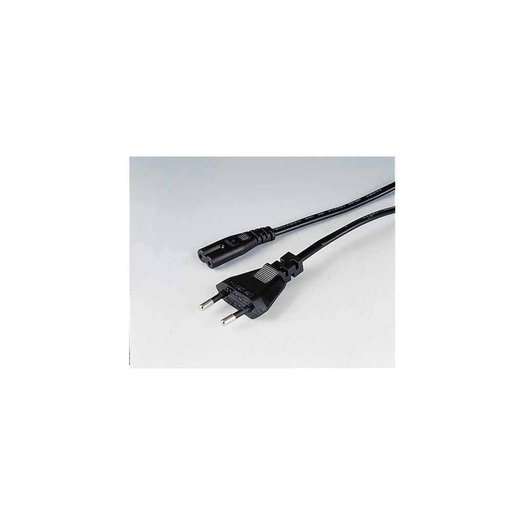 HAMA 44223  mains Cable, 2.5 m, Black