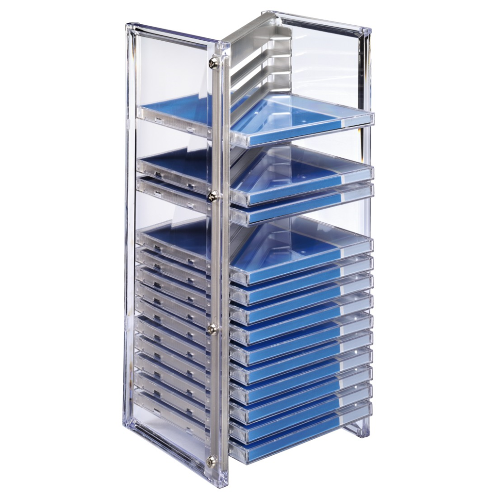 Hama Nexus CD and Office Rack 20, silver