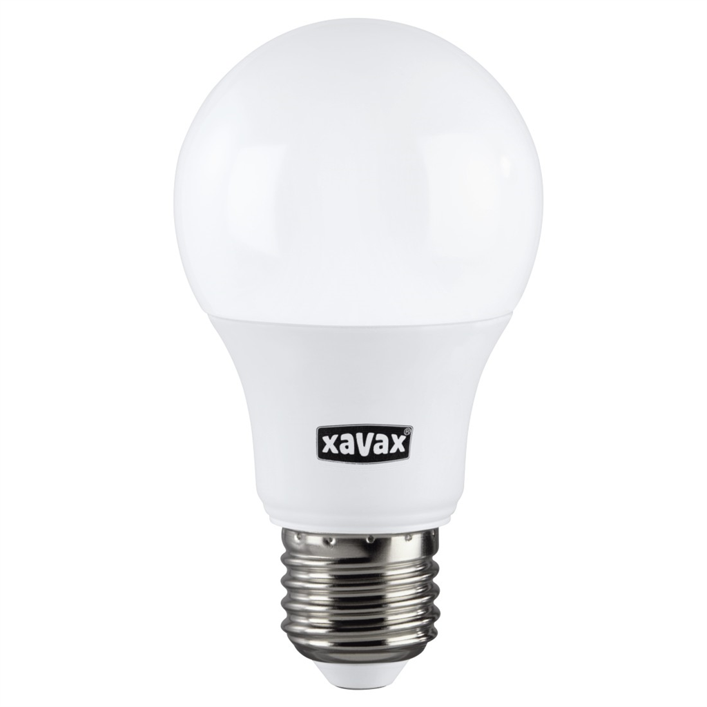 Xavax LED Bulb, E27, 806lm replaces 60W, incandescent bulb, warm white, RA90