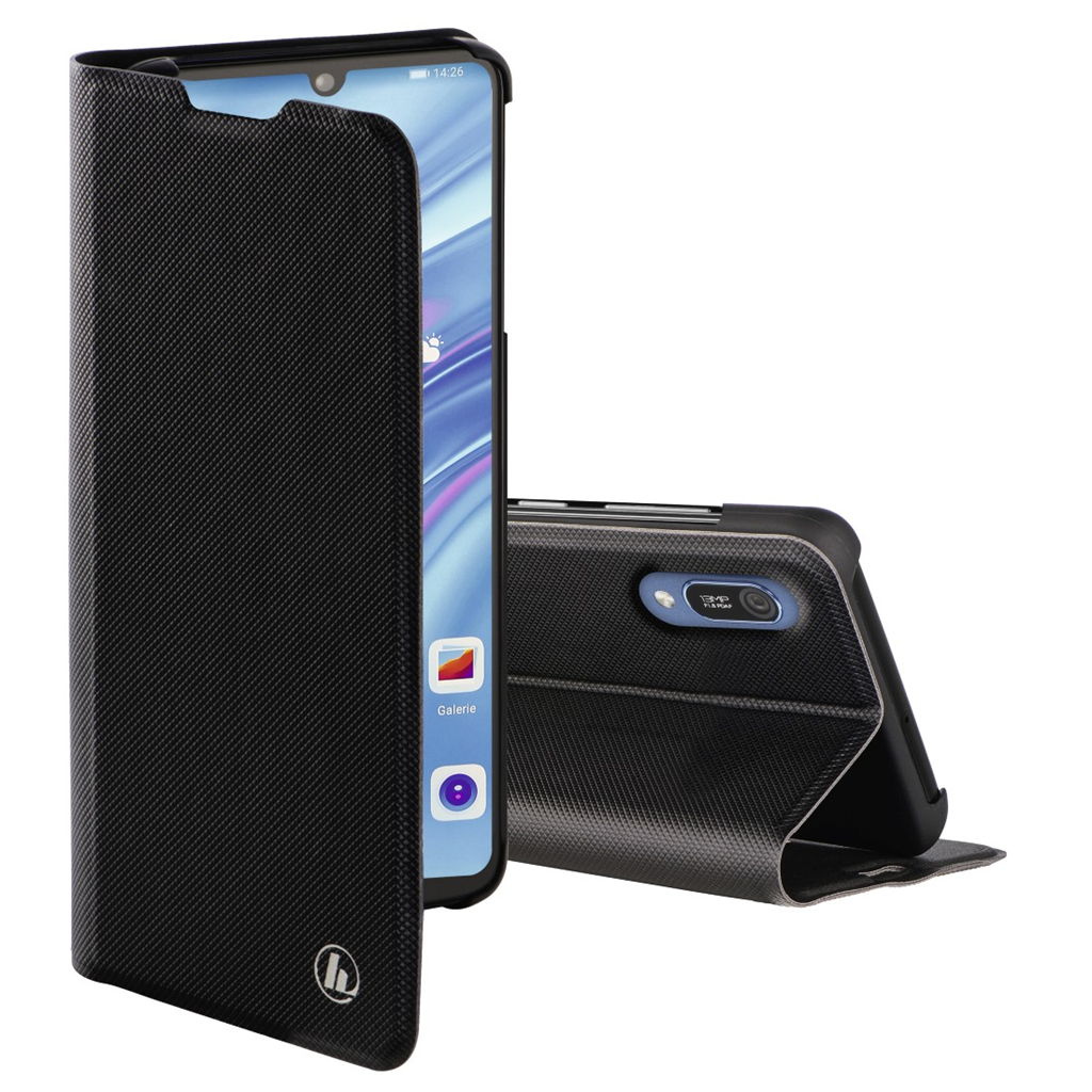 Hama Slim Pro Booklet for Huawei Y6 (2019), black