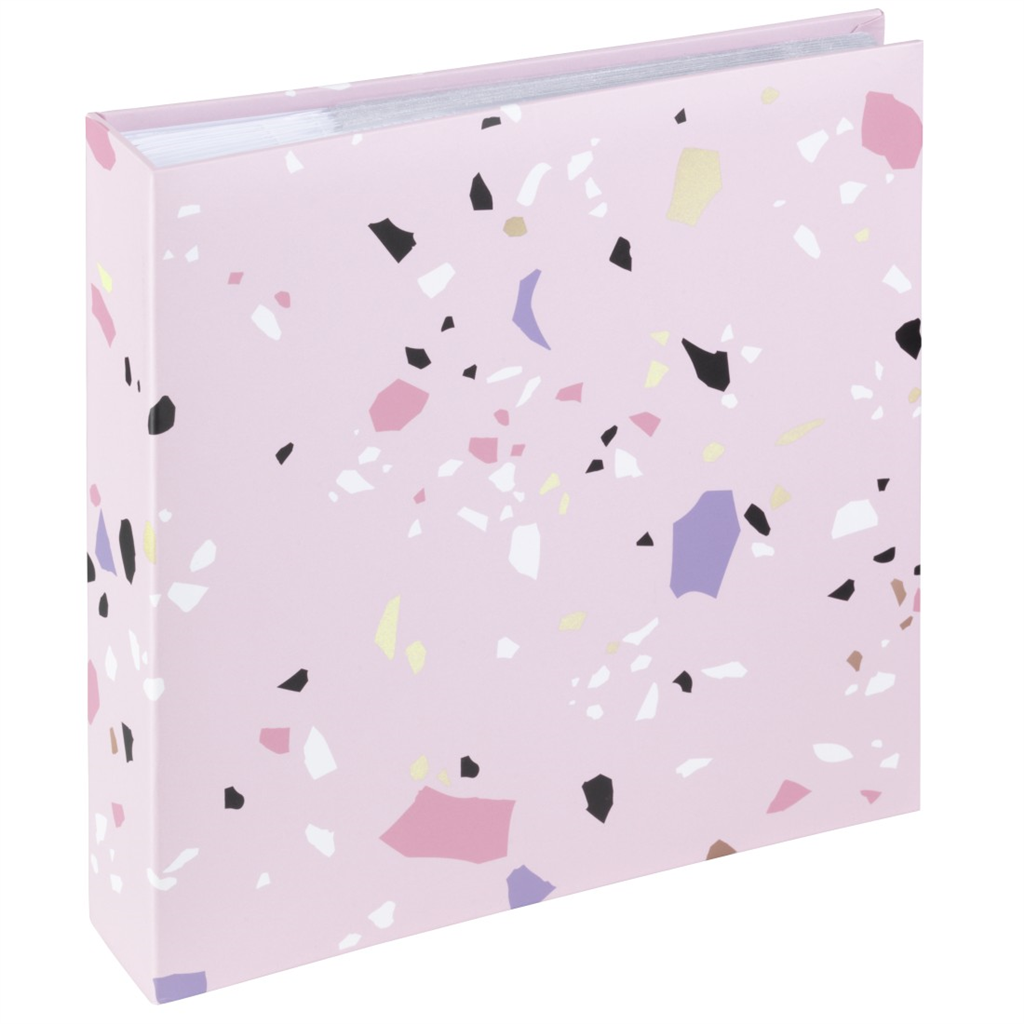 "HAMA 2688 ""Terrazzo"" Memo Album for 200 Photos with a size of 10x15 cm"
